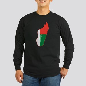 Cool Madagascar Long Sleeve Dark T-Shirt